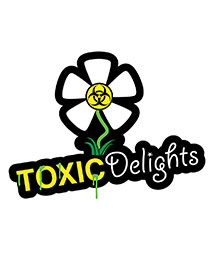 Toxic Delights Band Logo Design